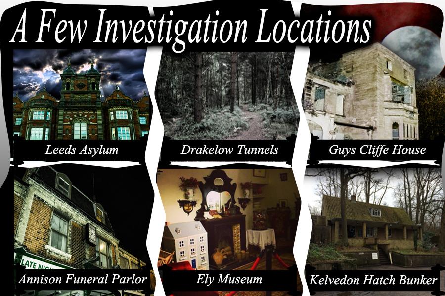 Past Invest Locations
