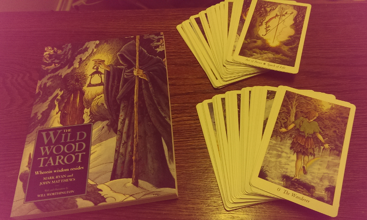 Unboxing the Wild Wood Tarot