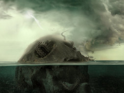 Giant Sea Monsters Den – PSHoudini