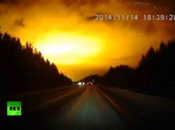 UFO? Meteor? Blast?
